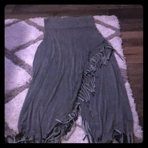 Dresses & Skirts - Strapless Fringe dress